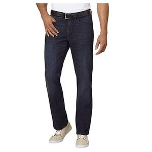 NEW Kenneth Cole Men's Blue Straight Stretch Jeans